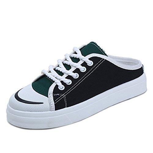 IANGL Flip Flops sin zapatos para mujeres en Baotou. black