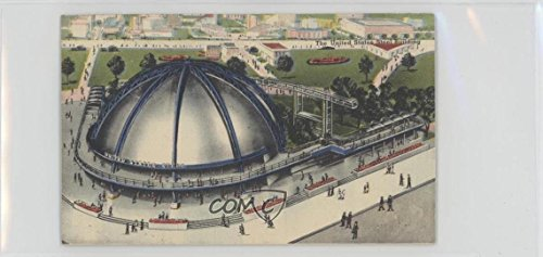 The United States Steel Building (Trading Card) 1939 Linen New York World's Fair - [Base] #USSB