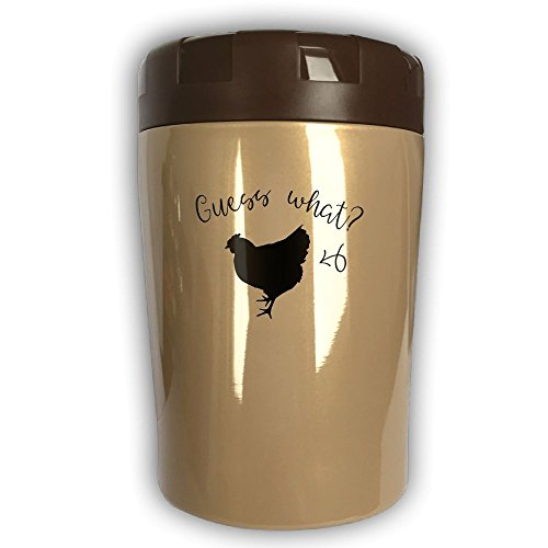Full Cast Of Christmas Vacation - Guess What Chicken Thermos Cup,Travel Insulation,Kettle Stew Pot,Outdoor Tableware,Stew Mug Burning Bottle,Vacuum Insulated Food Jar Chocolate