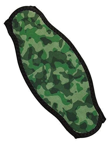 Innovative Strap Wrapper Neoprene Mask Strap Cover Green camo by Innovative Scuba