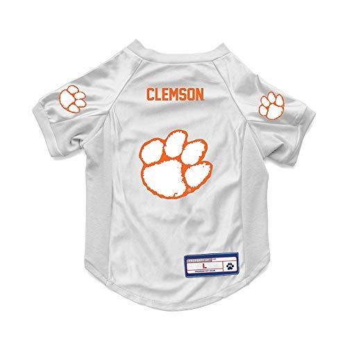 (Littlearth NCAA Clemson Tigers Pet JerseyJersey Stretch, Team Color, Medium)