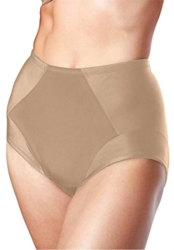 Dominique Women's Plus Size Shaping Brief Nude,3Xl