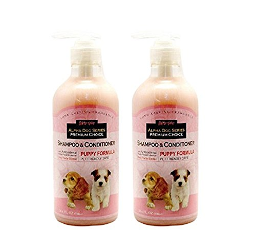 Alpha Dog Series - Puppy Shampoo&Conditioner (Pack of 2) by Alpha Dog Series