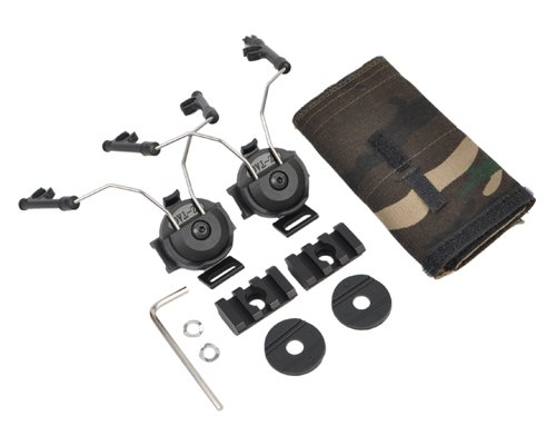 Element Helmet Rail Adapter Set for COMTAC I/II Black