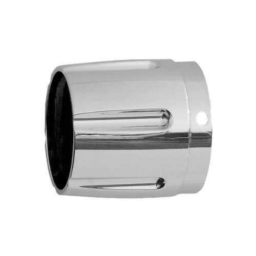 Rush Racing Products Racing Taper Style with Horizontal Grooves Exhaust Tip - (Rush Performance Tips)
