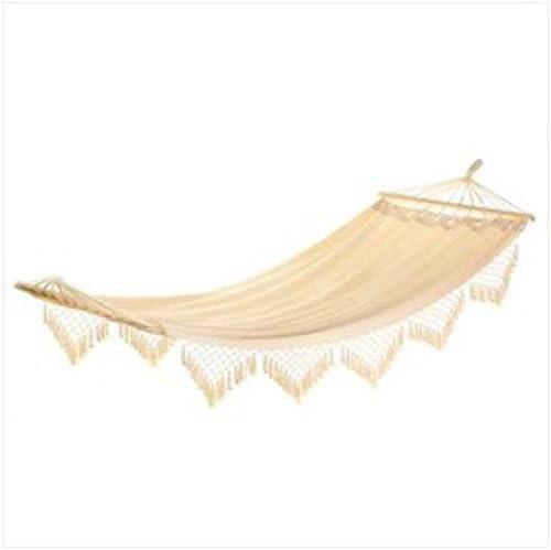 Zings Thingz 57070021 Fringed Hammock - a good cheap outdoor hammock