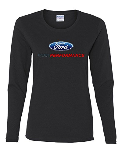 Ford Performance Long Sleeve T-Shirt Ford Mustang GT ST Racing Black M