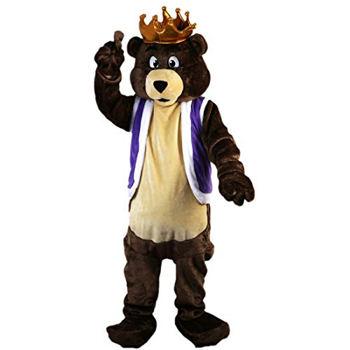 Bear Cartoon Mascot Costume Real Picture 15-20days delivery Brand ()