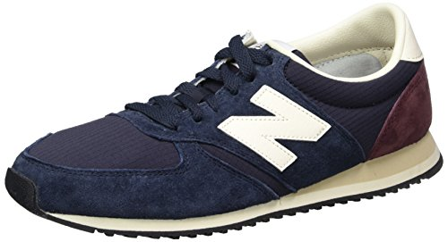 New Balance, Low-Top Uomo Blau (Blue/White/Purple)