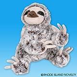 "Toys : Sloth Animal Den Plush 8"" H"