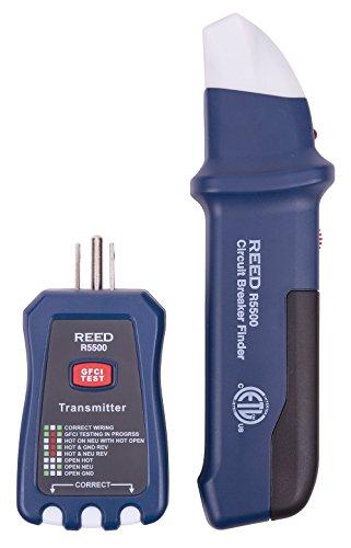 Reed Instruments R5500 3-in-1 Circuit Breaker Finder/Rece...