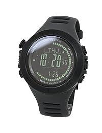 [LAD WEATHER] Swiss sensor Altitude/ air pressure / Digital Azimuth Storm alarm Step counter watch