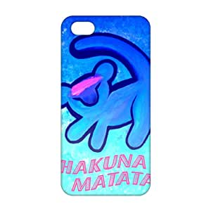 Ultra Thin HAKUNA MATATA 3D Phone Case for iPhone 5s