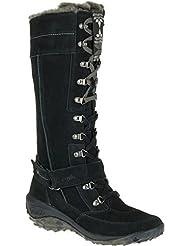 Cushe Womens Allpine Tundra Waterproof Leather Winter High Boot Black