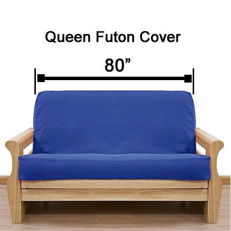 Solid Hunter Futon Cover Queen 405