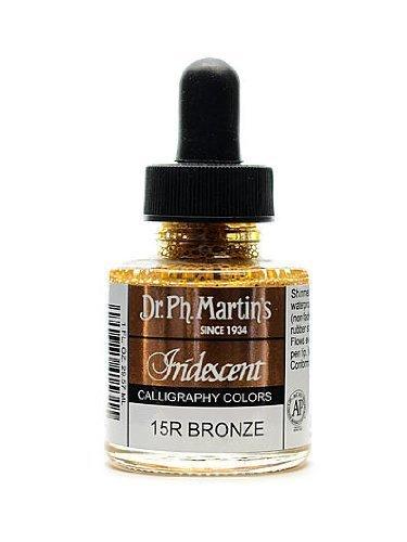 - Dr. Ph. Martin's Iridescent Calligraphy Color, 1.0 oz, Bronze (400070-15R)