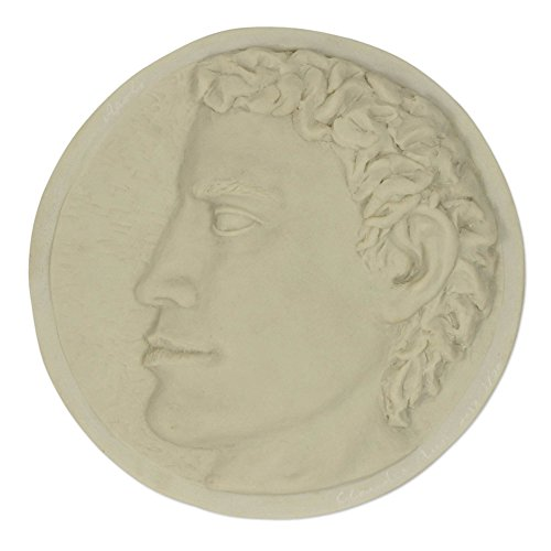 NOVICA 'Apollo' Marble Resin Wall Sculpture - Apollo Wall Sculpture