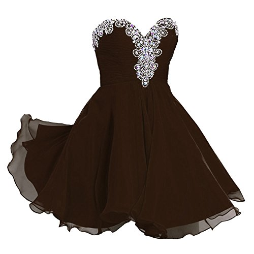 champagne and chocolate brown flower girl dresses - 6