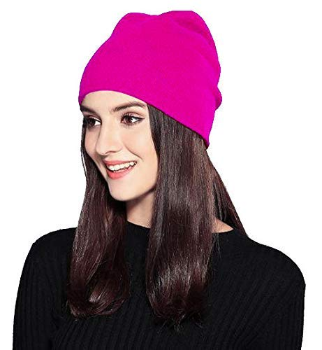 Pink Pussy Cat Hat Women's March Parade Hot Pink Knitted Beanie Hat Ski Winter Cold Weather Prime Gift Around Town Hip-Hop Style Hat