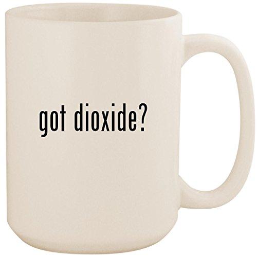- got dioxide? - White 15oz Ceramic Coffee Mug Cup