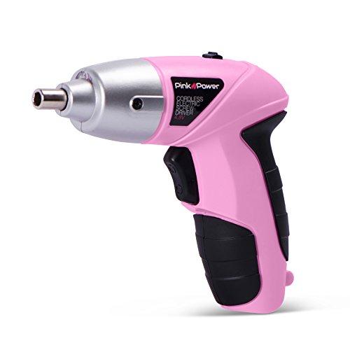 Pink Cordless Screwdriver