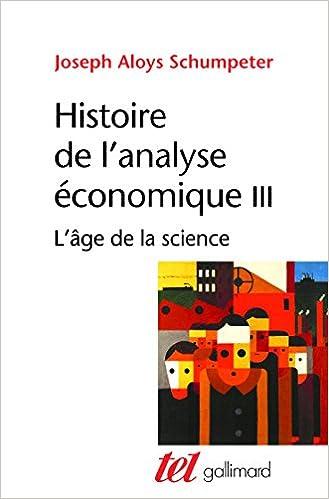 Lire en ligne Histoire de l'analyse économique pdf, epub ebook