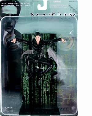 2000 N2 Toys The Matrix Action Figure - Trinidad en el aire