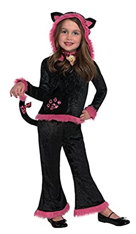 Christy's Girls Kuddly Kitty Costume (4-6 Years) (Kuddly Kitty Kostüm)