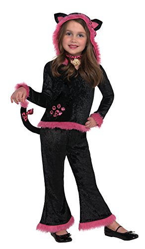 Christy's Girls Kuddly Kitty Costume (4-6 Years)