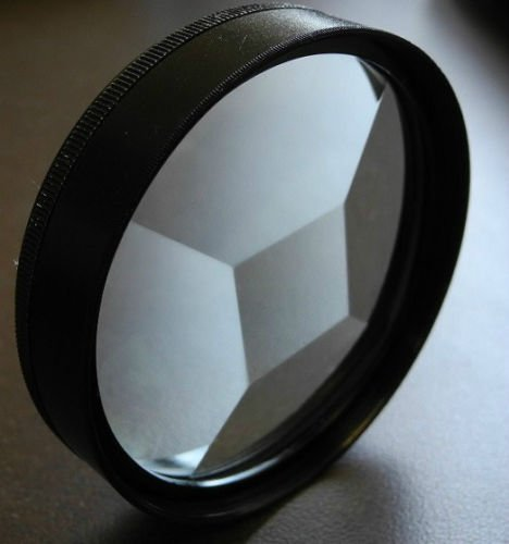 (58mm Multi Multiple Image Multivision Special Effect Filter)