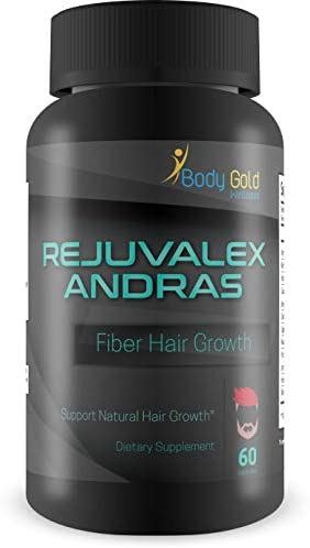 Rejuvalex – Andras Fiber – Hair Growth – Support Natural Hair Growth – with Vitamin B3 Niacin and a Powerful Proprietary Hair Blend. Help Prevent Hair Loss and Support Natural Hair Regrowth