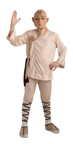 Bender Costume (The Last Airbender Aang Deluxe Kids Costume, Medium (8-10))