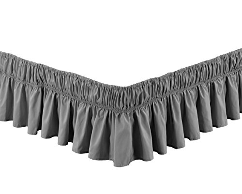 Fancy Collection Twin - Full Easy Fit Bed Ruffle wrap Around