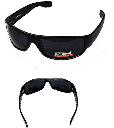 Super Dark Lens Sunglasses for sensitive eyes - Matte ()