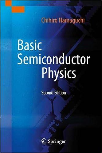 BASIC SEMICONDUCTOR PHYSICS CHIHIRO HAMAGUCHI PDF