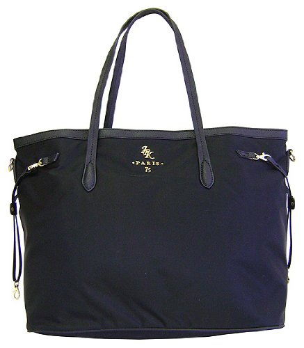 fe91189b6f29 JPK Paris 75 Shopper East West Black Nylon Tote  Amazon.co.uk  Shoes   Bags