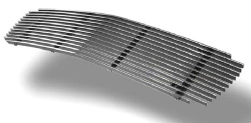 MaxMate Fits 98-03 GMC S-15 Jimmy/S-15 Pickup/Somona Bolton Upper 1PC Horizontal Billet Polished Aluminum Grille Grill Insert ()