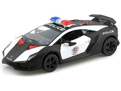 Amazon Com Lamborghini Sesto Elemento Police Car Toys Games