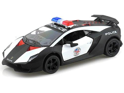 Lamborghini Sesto Elemento Police Car Kinsmart