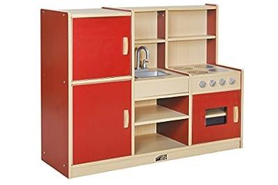 ECR4Kids Colorful Essentials Kitchen Playsets