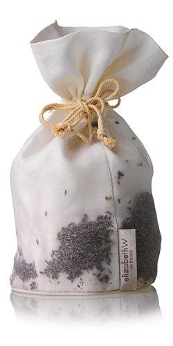 elizabethW 77248 Lavender Toilet Roll Tissue Bag in Ivory linen