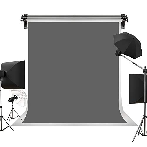 Kate 5ft×7ft Solid Gray Backdrop Portrait Background for Photography Studio