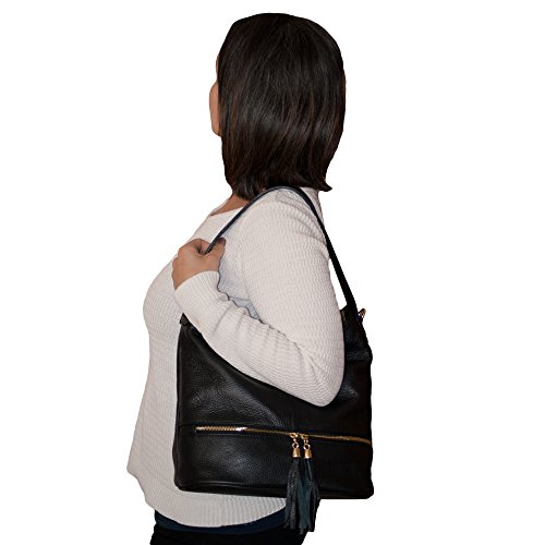 Handbags Bag Shopper Bag Womens Shoulder Large Leather Dazoriginal Hobo Brown Tote tPXpq4Hqxw