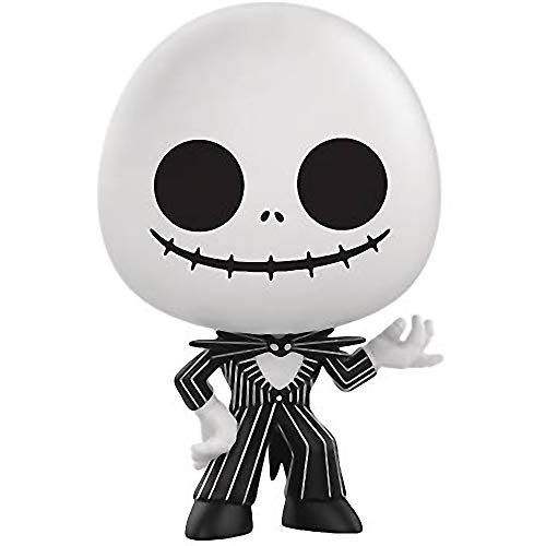 Funko Jack Skellington: The Nightmare Before Christmas x Mystery Minis Mini Vinyl Figure & 1 PET Plastic Graphical Protector Bundle [32850]