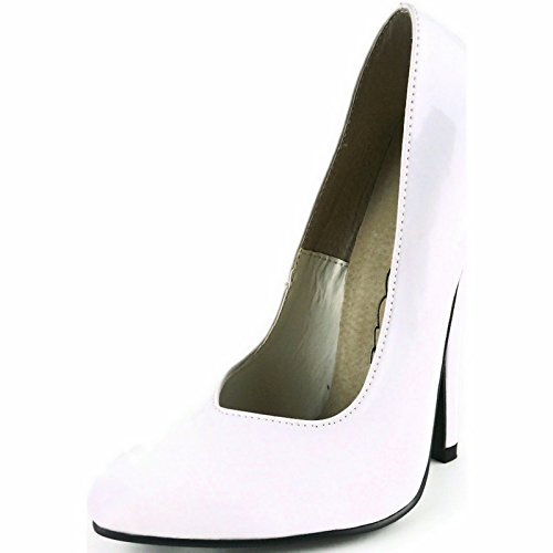 Ellie Fucsia 6 Scarpe Pump Bianco Fetish Tacco 6; Sz e 6 Sz Fetish e Black Rosso 10 red Ellie 10 White Nero 8260 8260 Pompa Fuchsia Is 6; Heel Shoes TxqrZwT