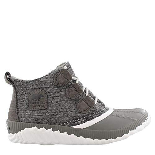 SOREL - Women's Out N About Plus- Sweatshirt Boots, Size: 8 B(M) US, Color: Quarry