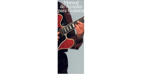 Manual De Acordes Para Guitarra: Amazon.es: Pickow, Peter: Libros