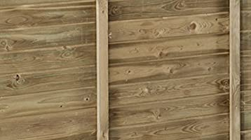 Avanti Trendstore - Manerba - Caseta de pared para el jardín, madera de pino tratada, 105 x 217 x 201 cm aprox.