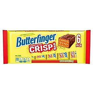 Butterfinger Peanut Butter Crisp Bar 6 Pack