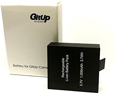 androgeek_es Bateria 1000Mha 100% original marca GITUP. Valido para camaras GITUP git1 git2 git2p git3. Androgeek envia desde España y es distribuidor oficial autorizado marca GITUP en España.: Amazon.es: Electrónica